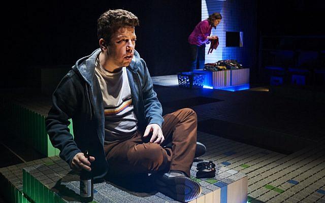 Ben Rosenblatt as Mordy. Photo by Kristi Jan Hoover.