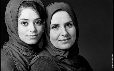 Hadeel and Shadia  (Photo by Andrea London)