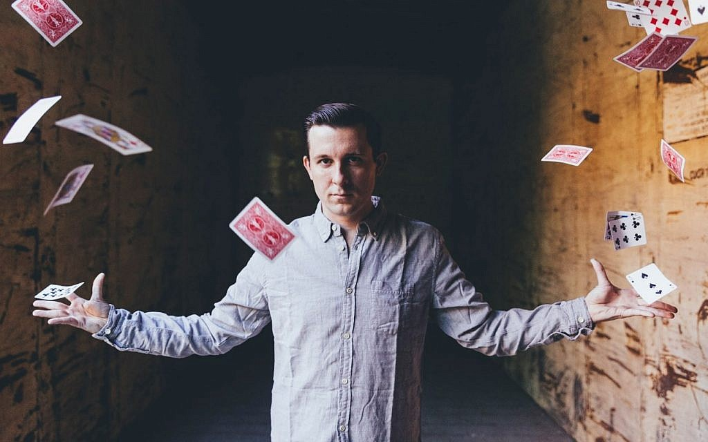 Magician Lee Terbosic performs at Liberty Magic through May 12  Photo provided by Pittsburgh Cultural Trust