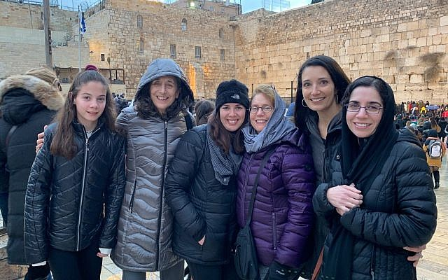 The Cincinnati pilot group in Israel last December. Photo provided by Sharon Spiegel.