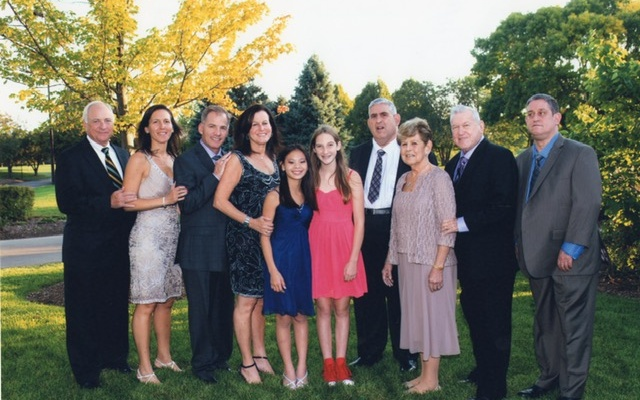 David and Cecil Rosenthal and their family. Photo provided by Diane Rosenthal Hirt.