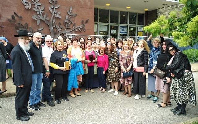 Russian Jewish delegation visits Tree of Life building | The