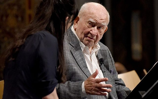 "Ed Asner will perform in ""The Soap Myth"" May 6 at the Holocaust Center of Pittsburgh. (Photo courtesy of the Holocaust Center of Pittsburgh)"