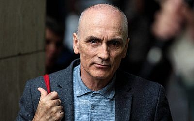 LONDON, ENGLAND - SEPTEMBER 04: Labour MP Chris Williamson attends a demonstration outside a meeting of the National Executive of Britains Labour Party on September 4, 2018 in London, England. Labour's NEC meet today to vote on whether to adopt the full International Holocaust Remembrance Alliance (IHRA) definition of anti-semitism. (Photo by Jack Taylor/Getty Images)