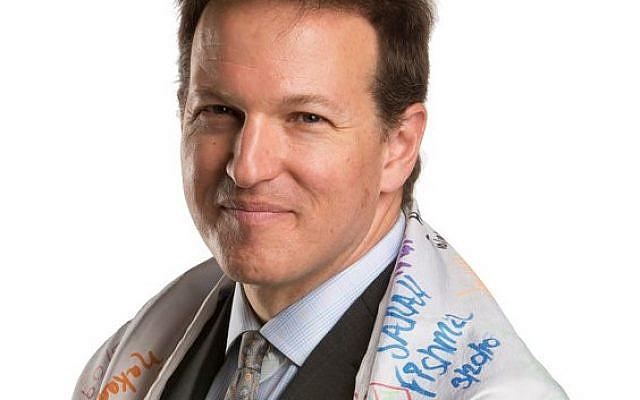 Rabbi Larry Freedman, Temple Beth Jacob. I am Orange portrait. ERIK GLIEDMAN/Times Herald-Record