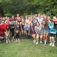 36 student leaders from 4 campuses participated in Hillel JUC's outdoor retreat. Photos courtesy of Hillel JUC