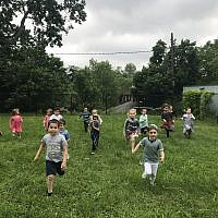 Yeshiva's Early Learning Center students enjoying the current space.  Photo courtesy of Yeshiva Schools