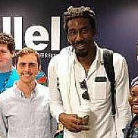 Amar'e Stoudemire is leading an initiative to connect Jewish and African-American students at Florida International University. Photo courtesy of FIU Hillel