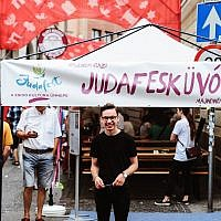 Judafest cultural festival in Budapest, Hungary.Source: Facebook.