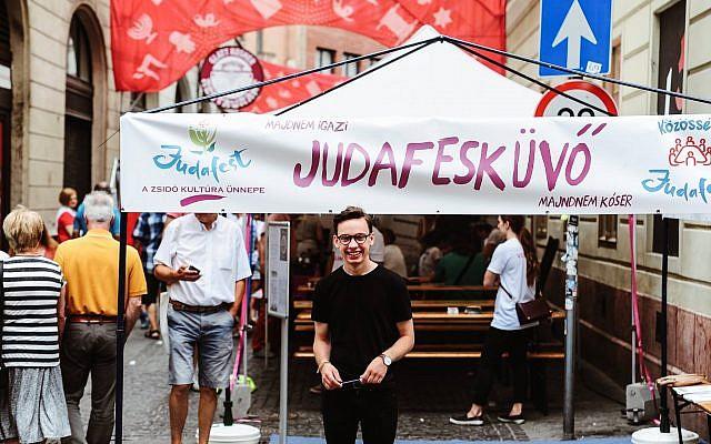 Judafest cultural festival in Budapest, Hungary.Source: Facebook.
