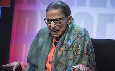 Supreme Court Justice Ruth Bader Ginsburg Photo by Tom Williams/CQ Roll Call/Getty Images