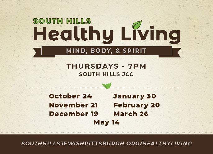 2019 South Hills Healthy Living Webslider