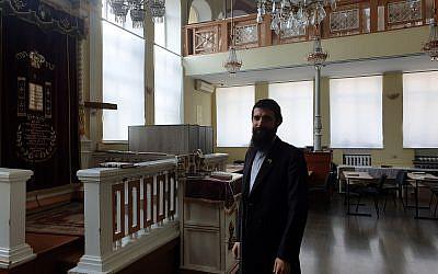 9-16-19 Chisinau jews synagogue transnistria Shmuel Zalmanov moldova