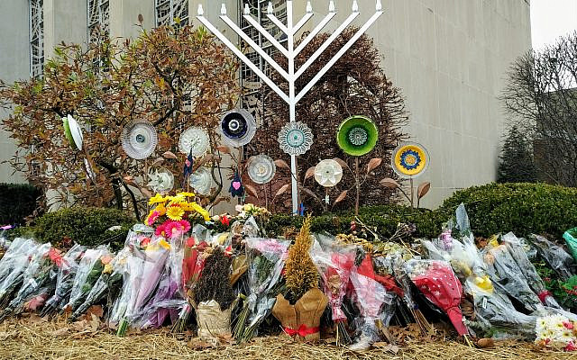 Three congregations at the Tree of Life building were attacked on Oct. 27, 2018 (file photo)