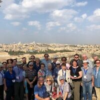 Israeli mission led by Rabbi Jamie Gibson and Rev. Randy Bush Photo provided by Jamie Gibson