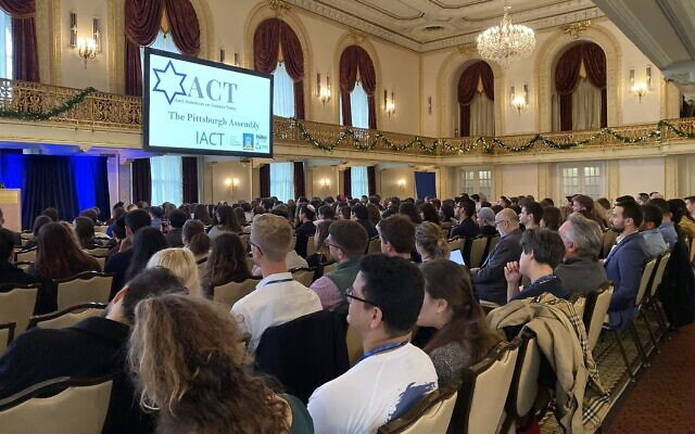 Anti-Semitism conference attracts hundreds of college students to Pittsburgh