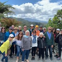 Pittsburghers down under in New Zealand. Photo provided by Sharon Perelman