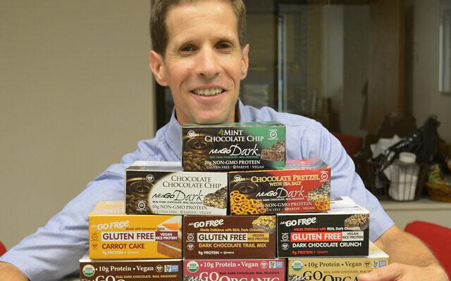 David Levine. Photo courtesy of NuGo Nutrition