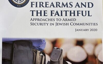 Cover of white paper on firearm guidelines