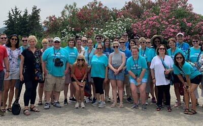 Classrooms Without Borders participants in Greece in 2019. Photo courtesy of Classrooms Without Borders