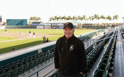 In past years, Mike Roteman attended Pirates spring training in Bradenton, Florida. Mike and his wife Ellen have extended their normal stay in the state due to the COVID-19 outbreak. Photo provided by Mike Roteman