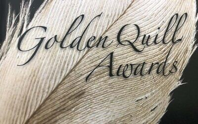 The Press Club of Western Pennsylvania will host the annual Golden Quill Awards on September 28, 2021. (Photo from Golden Quills program)