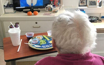 JAA residents are now eating their meals in their rooms, a protocol to keep them protected from COVID-19. Photo provided by the JAA.