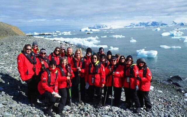 Amazing Journeys recently traveled to Antarctica with a group of Jewish singles. The South Hills-based travel company is grounded for now. Photo provided by Amazing Journeys