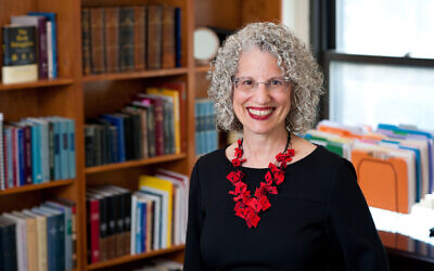 Shuly Rubin Schwartz was named the eighth chancellor of the Jewish Theological Seminary in its  134-year history.Photo by Ellen Dubin Photograph