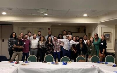 The 412 Black Jewish Collaborative's board of directors is striving to build relationships between the two communities. Photo provided by Josiah Gilliam.