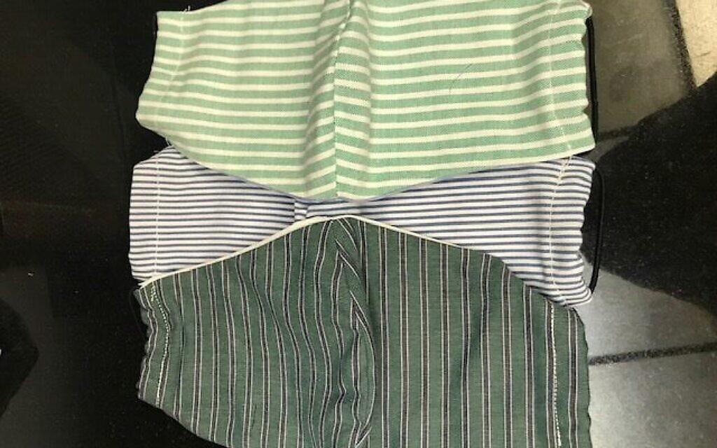 Let's stripe out COVID-19. Photo courtesy of Lynette Lederman