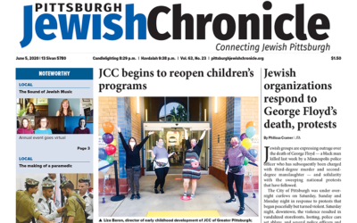Pittsburgh Jewish Chronicle June 5, 2020