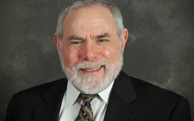 Rabbi Paul Tuchman. Photo courtesy of Dick Leffel