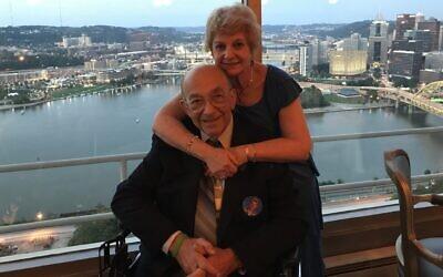 Jack Silverstein and Donna Wolfson (Photo provided by Donna Wolfson)