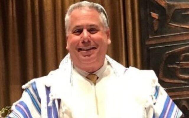 Rabbi Emeritus Jamie Gibson (Photo by Carol Rosenthal)