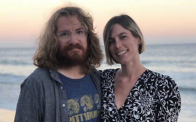 Drew Brown and Eden Cohen (Photo by Tamara Shayne Kagel)