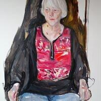 """""""Jacki,"""" oil on canvas"""