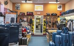 For 76 years, Specialty Luggage sold high end luggage to loyal customers. Photo provided by Jeff Izenson.