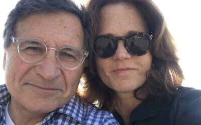 Despite espousing different political ideologies, Lou and Amy Weiss have been married for 40 years. Photo provided by Lou Weiss.
