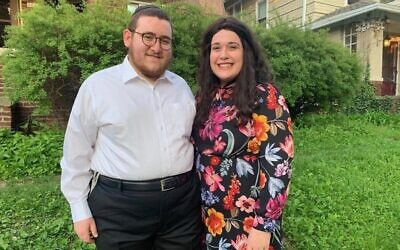 Leah and Rabbi Yossi Feller. (Photo provided by Yossi Feller)