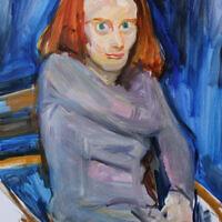 """Anyal,"" oil on canvas"