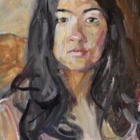"""""""Helen,"""" oil on canvas"""