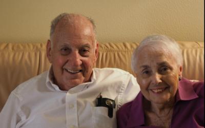 Holocaust survivors Kurt Leuchter and Edith Loeb (Photo provided by Debbie Stueber)