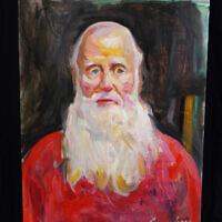 """Mel,"" oil on canvas"