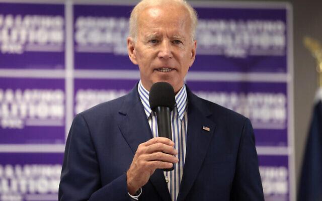 Former U.S. Vice President Joe Biden, the current Democratic Party presidential nominee. (JNS/Flickr)