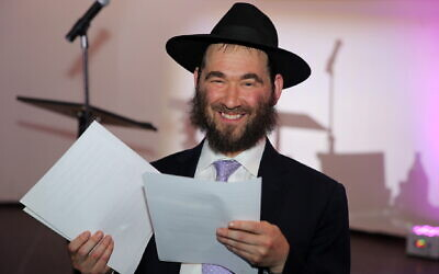 "Rabbi Yehuda ""Yudi"" Dukes (JTA/Itzik Roitman/Merkos302/Courtesy of JNet)"
