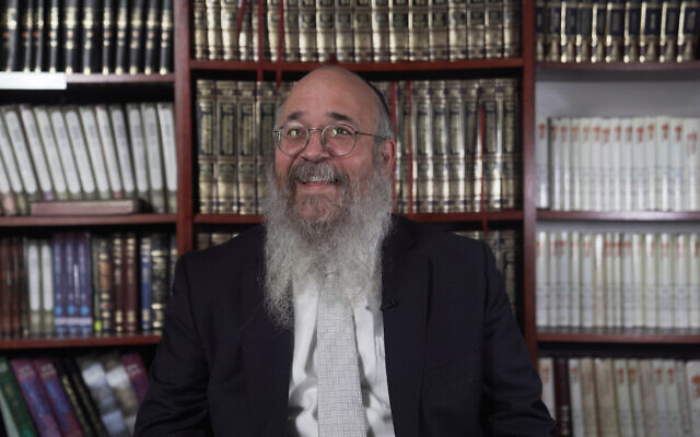 Rabbi Yossi Rosenblum  (Photo by Jordon Rooney)