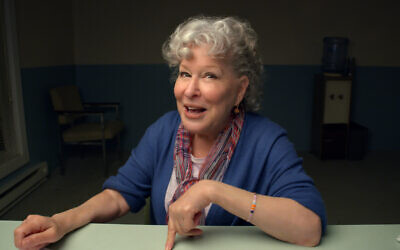 Bette Midler stars in 'Coastal Elite.' (HBO/via JTA)
