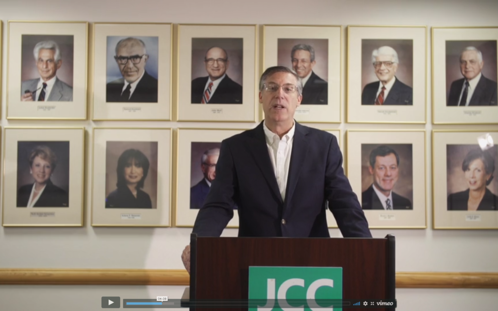 JCC annual meeting delivers status update, awards and the sound of the shofar