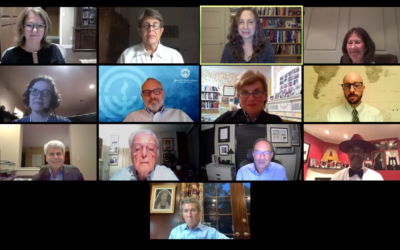 The Holocaust Center of Pittsburgh celebrated its 40th Anniversary with a Zoom webinar on Wednesday, Sept. 2. Screenshot provided by the Holocaust Center of Pittsburgh.